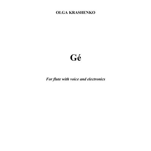 Olga Krashenko:  Ge (2009)