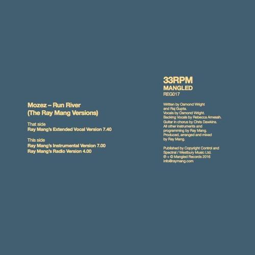 Mozez - Run River - Ray Mang's Radio Version (4.00)