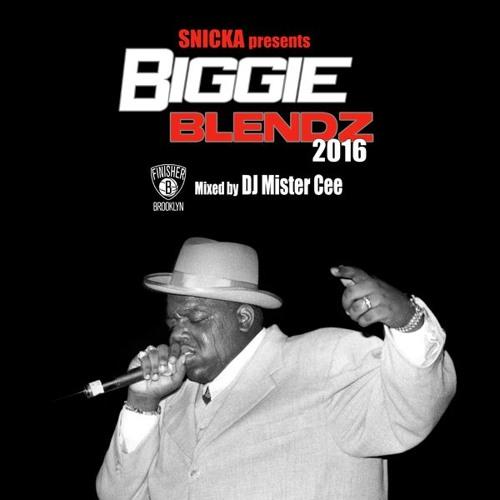 Biggie Blendz 2016 mixed by DJ Mister Cee (2021 mix on snicka.com)