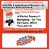 CHAPTER- Market Research And Marketing Selling Combined - Earn While Your Learn
