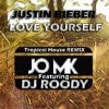 Justin Bieber - Love Yourself(Conor Maynard Cover)( JO MK Ft DJ ROODY REMIX 2016 )