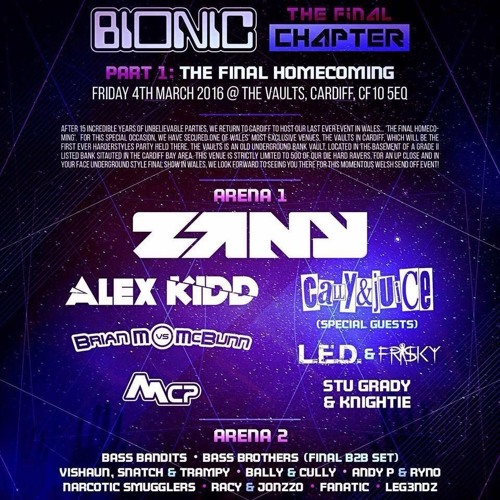MCP Early Hardstyle @ Bionic: The Final Homecoming