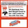 CHAPTER- We Distribute Your Mail Merged Email To The 1,000 Leads For You With Your Info.