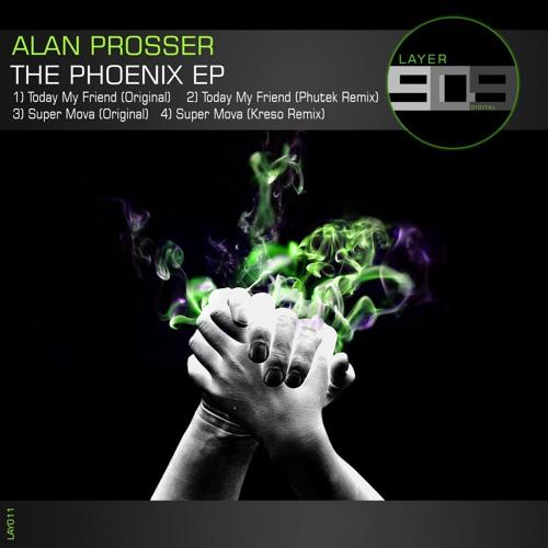 Alan Prosser - Phoenix EP (LAY011)  Release date 11/4/2016
