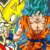 Sonic VS Goku  VS Special Rapper Rap BATTLE Random Rap Battles #2