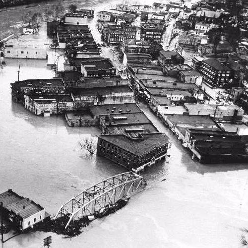WSGS Flashback: March 12, 1963 - Hazard was Flooded