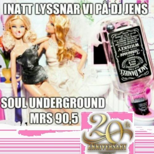 Soul Underground  Show - DJ Jens on MRS 90.5 FM - 20th Anniversary Broadcast - Sunday March 6 2016