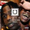 Travis Scott - Uber Everywhere Remix (Bass Boosted)