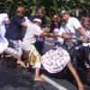Tradisi Mbed Mbedan Desa Adat Semate Abianbase Mengwi Badung
