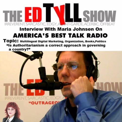 Radio Interview With Maria Johnsen On Business and Politics