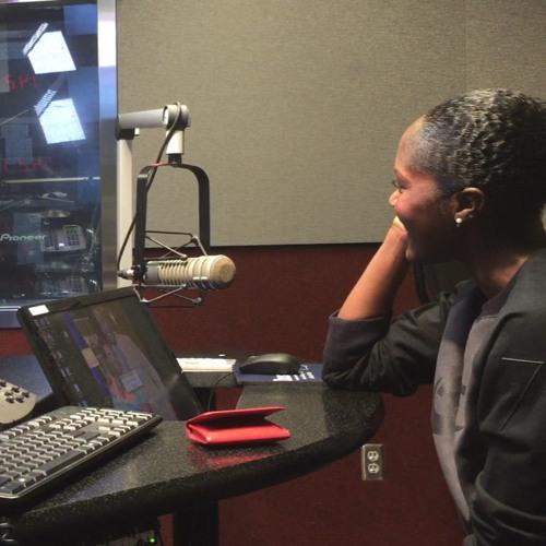 Pretty Girls Sweat Founder Aeshia DeVore Branch on Atlanta's #1 Radio Station V-103