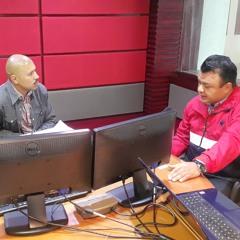 Entrevista en el noticiario Así Sucede de Grupo Acir