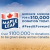 @Listen2Lena shares information on how you can help @MapleLeafFoods #FeedItForward