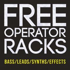 45 Free Instrument Racks for Ableton Live (Operator-based)