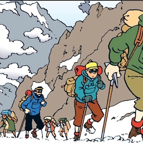 Animation - English. Tintin in Tibet