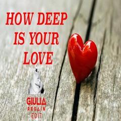 Calvin Harris-How Deep Is Your Love (Giulia Regain Edit)