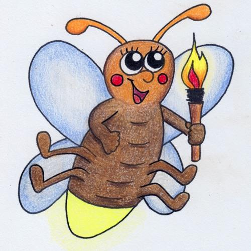 Glühwürmchenfamilie - Demo (Ingas Garten 1)