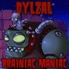 Brainiac Maniac 'Dr. Zomboss' (Plants vs Zombies) Metal Cover