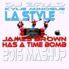 Kylie Minogue Vrs LA Style - James Brown Has A Time Bomb - 2016 Mash - Up