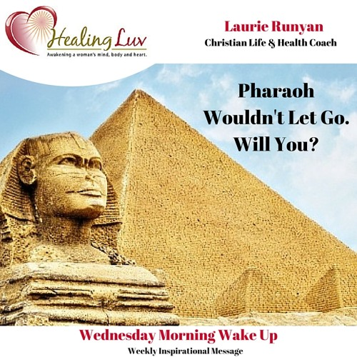 Audio 35 - Pharaoh Wouldn't Let Go. Will You?