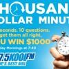 KOOL FM's $1000 Minute
