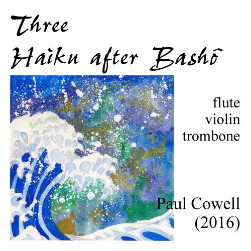 Three Haiku after Bashô