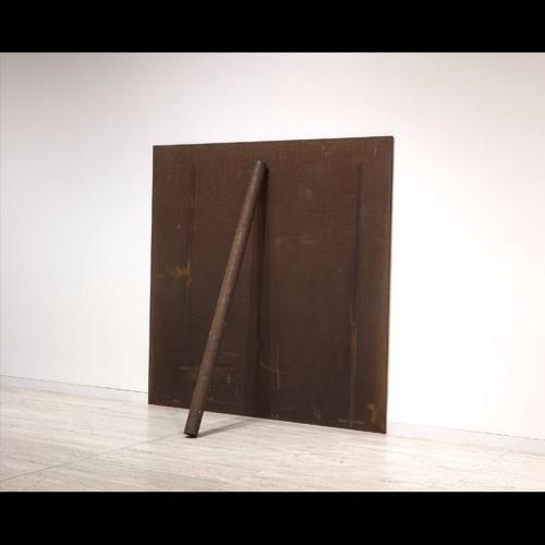 Richard Serra Plate, pole, prop