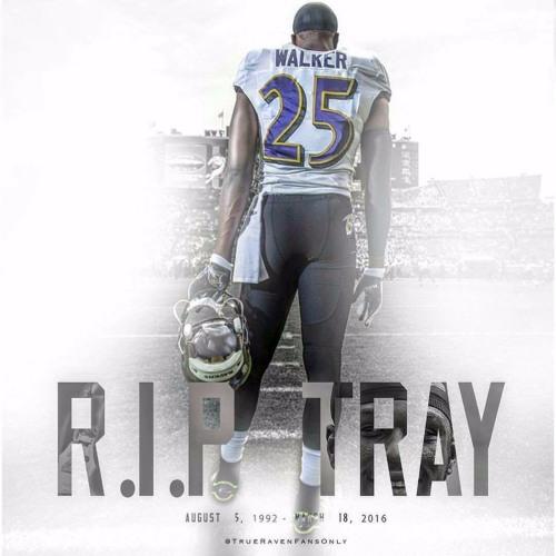 Ravens Remember Tray Walker