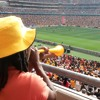 At a South African soccer match