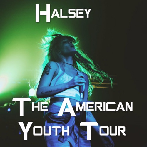 Halsey - Haunting // The American Youth Tour by halseylive17