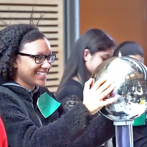 Girls Find a Voice and Mentors at Plasma Physics Lab STEM Conference | 03.25.2016 | WHYY News