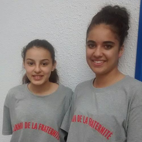 Sarah et Zyneib de l'équipe FC Vaulx-en-Velin #semaine21mars Tournoi de la Fraternité