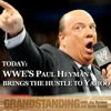 WWE's Paul Heyman brings the hustle to Yahoo