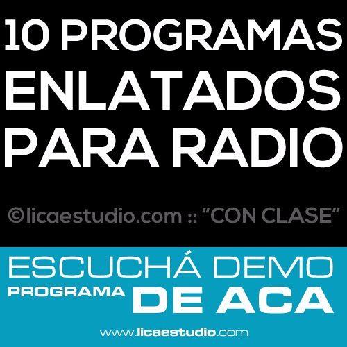 Programas para Radio