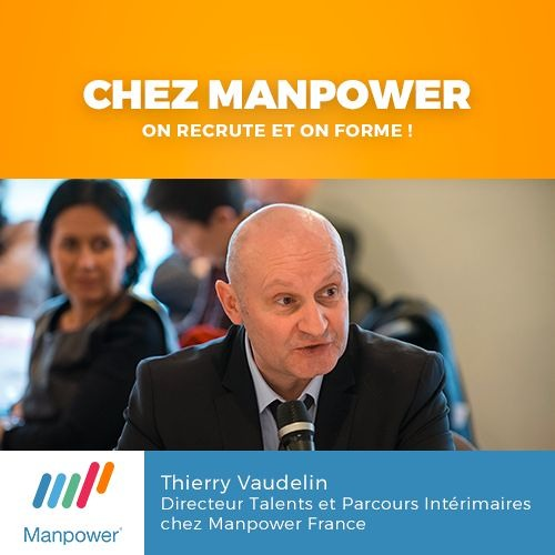 Chez Manpower, on recrute et on forme ! - 29/03/2016