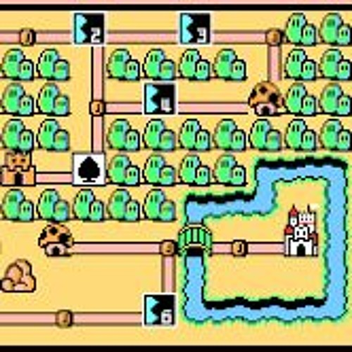 Mario 3 World Map.Super Mario 3 World Map 1 By Longbottom S Video Game Themes