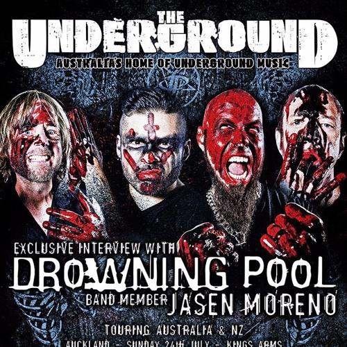 Jasen Moreno - Drowning Pool - March 2016