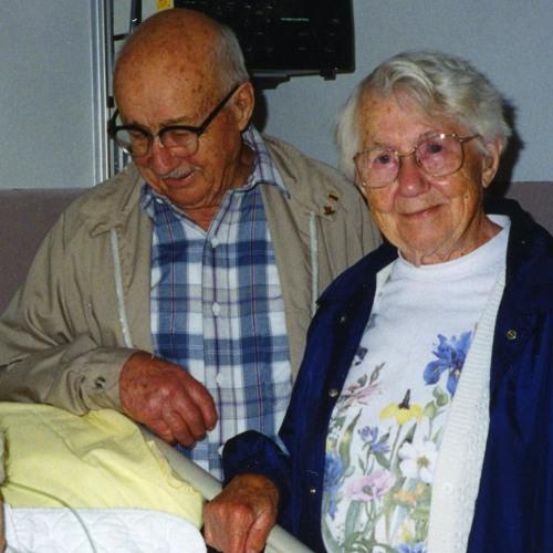 Herb Grage & Eleanor Grage (Cole) 1996