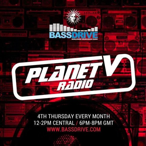 Command Strange - Planet V Radio Show 002 @ Bassdrive - 2016