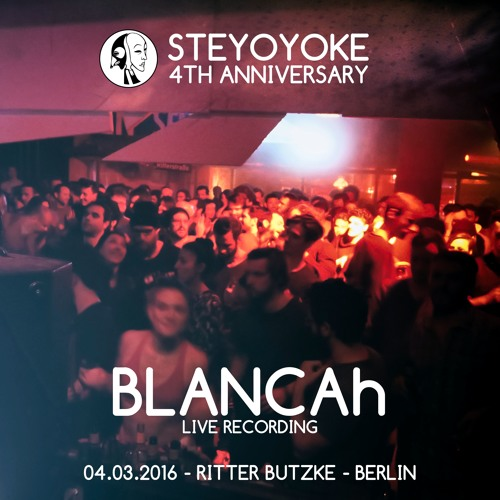 BLANCAh - Recorded Live at Ritter Butzke (Berlin)