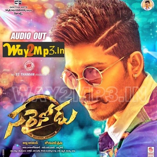 Sarrainodu Telugu Mp3 Songs 320KBPS By