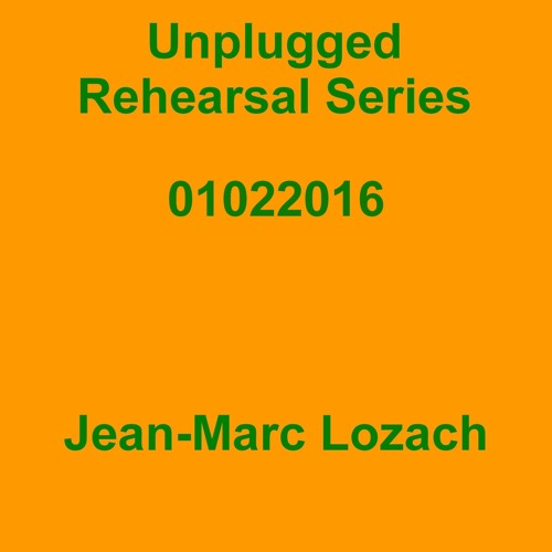 Unplugged Rehearsal Series Opus 277