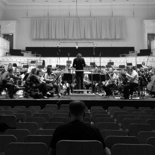 As heard across a room [Excerpt] - for orchestra