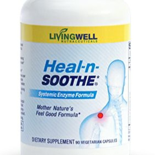 "Proteolytic Enzymes for Reducing Pain, Natural Medicine ""Heal-n-Soothe"" from Healthy Back Institute"