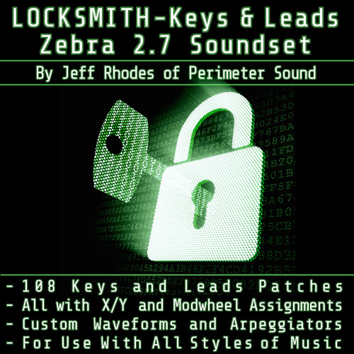 Perimeter Sound - Locksmith: Keys & Leads [ZEBRA 2]