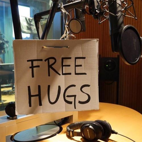 Free Hugs am Tag der Umarmung