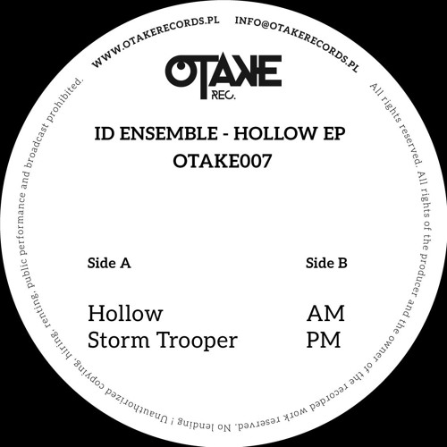 Id Ensemble - Hollow EP (Otake 007) 12""