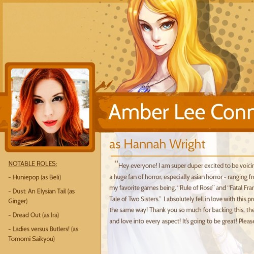 Amber Lee Connors as Hannah Wright by Yangyang Mobile | Free