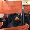 Entrevista: ¿Por qué protestaron mujeres cubiertas de negro en el Metro de la CDMX?
