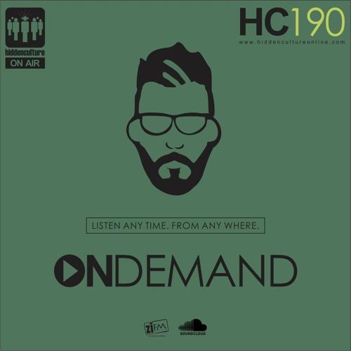 Hidden Culture On Demand 190 + Victor Bravo Guest Mix